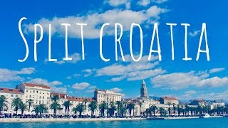 Split Croatia Timelapse Top Places to Visit