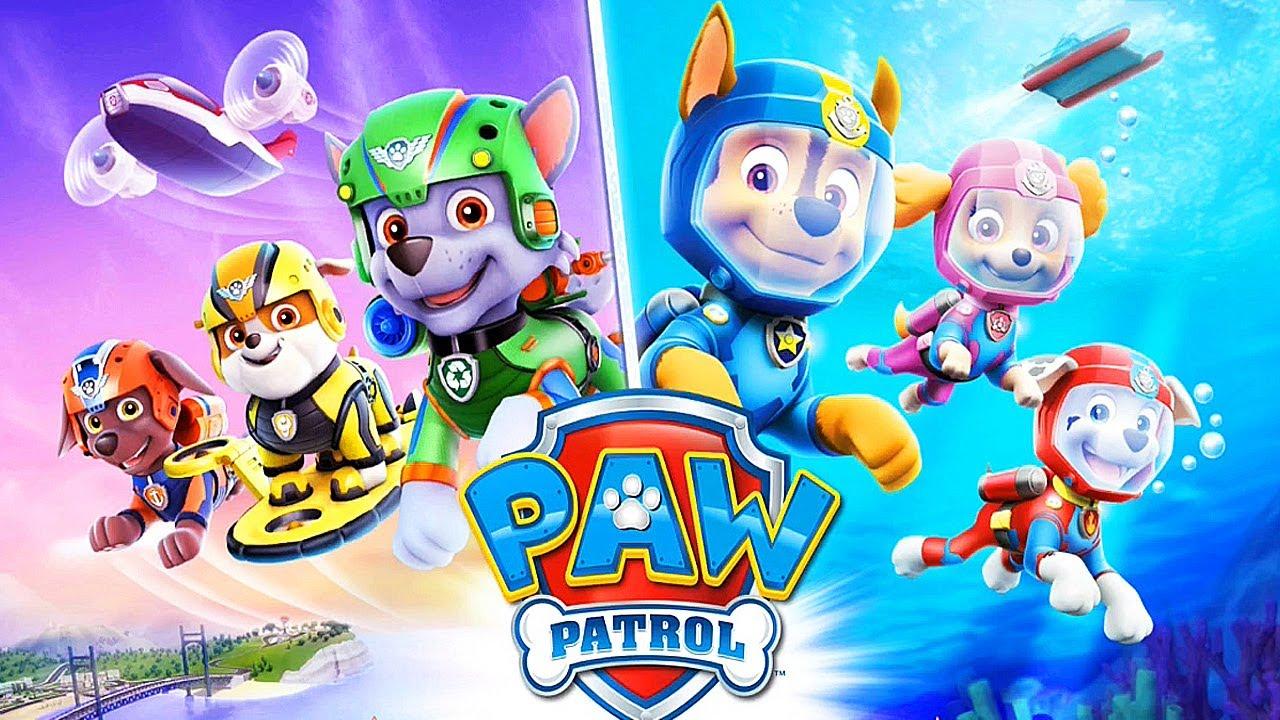Paw Patrol Air Amp Sea Adventures Cartoon Games Kids Tv
