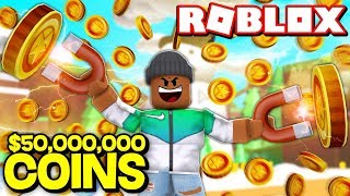 COLLECTING 50,000,000 COINS!! | Roblox Magnet Simulator