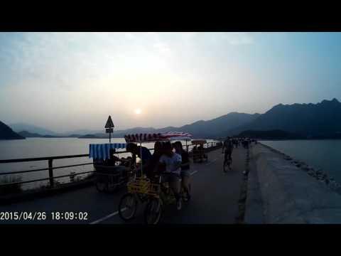 Cycling from Tai Po Waterfront Park to Tai Mei Tuk