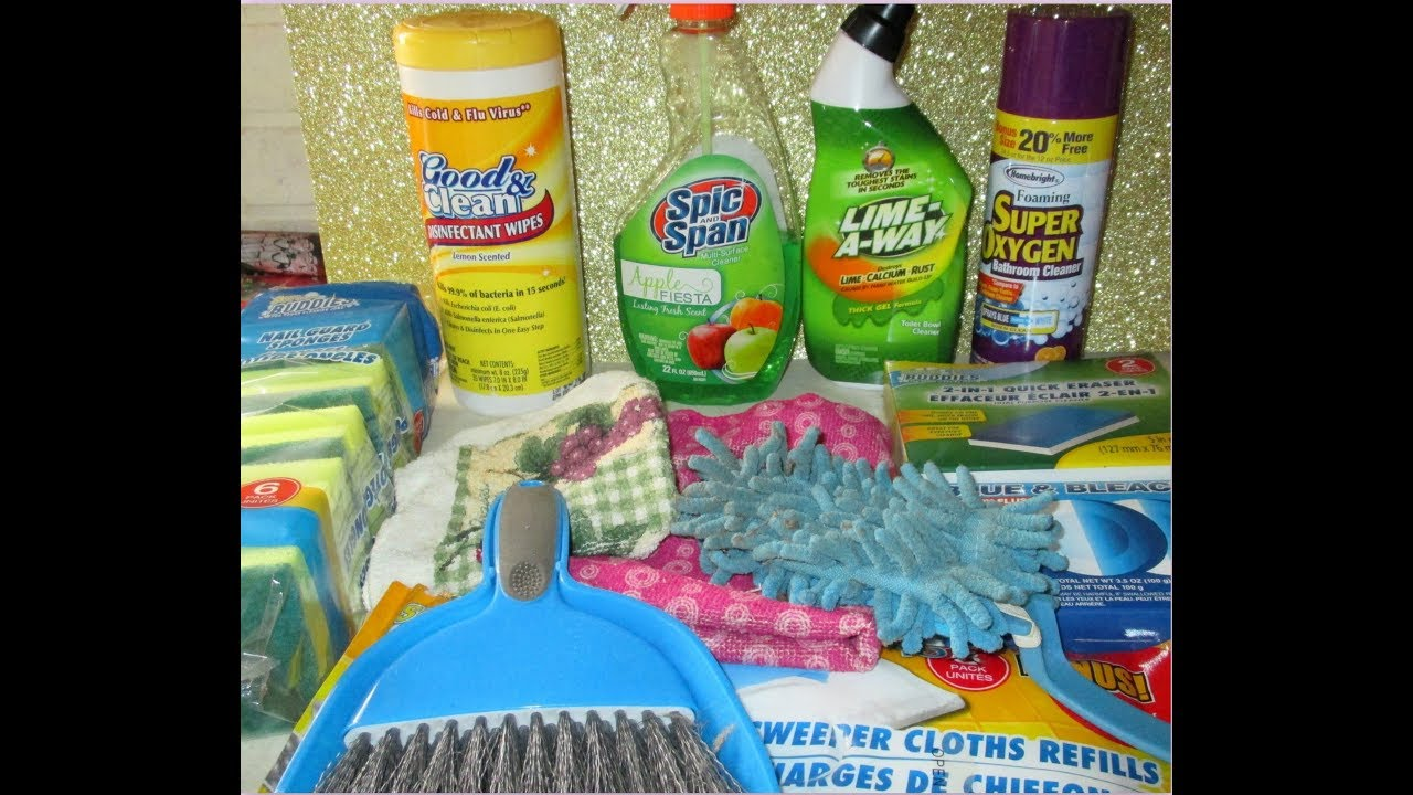 My FAVORITE DOLLAR TREE Cleaning Products!! - YouTube