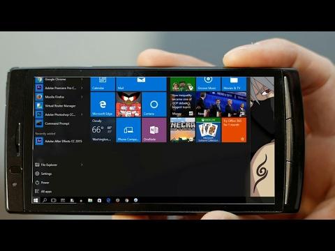 turn your smartphone into desktop
