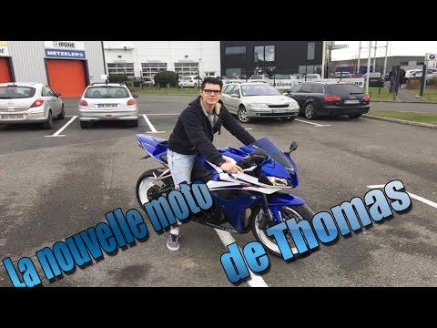 600 CBR HONDA - LA NOUVELLE MOTO DE THOMAS  - VLOG MCOM