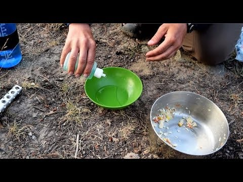 Backcountry Cooking Series – Part 6: Clean-Up/Washing Dishes
