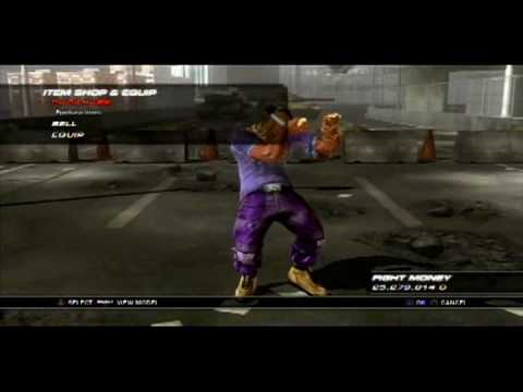 Ps3 Tekken 6 Characters Customization Youtube