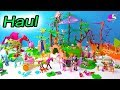 Giant Fairy Unicorn Forest Haul ! Playmobil Toy Playsets Review Video