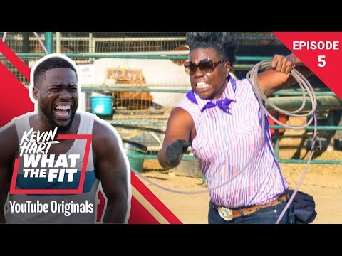 Recreational Rodeo with Leslie Jones | Kevin Hart: What The Fit Episode 5 | Laugh Out Loud Network