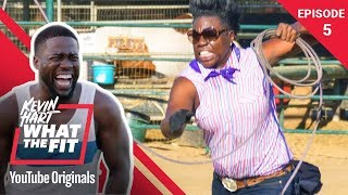 Recreational Rodeo with Leslie Jones | Kevin Hart: What The Fit Episode 5 | Laugh Out Loud Network thumbnail