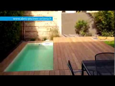 Terrasse mobile pour piscine movingfloor octavia terrasses mobiles youtube - Mini piscine pour terrasse ...