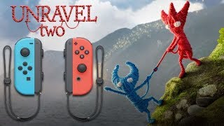 Unravel 2  Gameplay no Nintendo Switch