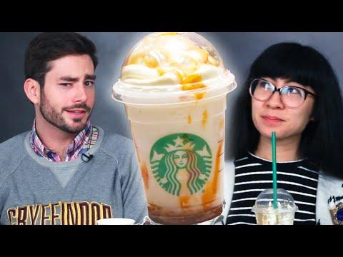 Download Youtube: People Try Secret Harry Potter Starbucks Butterbeer