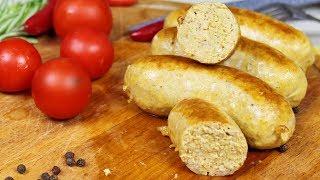 Зачем покупать вредные сосиски в магазине Вкусные Куриные Колбаски с сыром