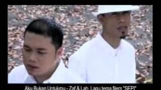 Video Zaf & Lah VE - Aku Bukan Untukmu (OFFICIAL MUSIC VIDEO) download MP3, 3GP, MP4, WEBM, AVI, FLV Juli 2018