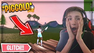 TROLLO KHADIAX becoming PICCOLISSIMO on FORTNITE with a GLITCH!😱 - That's how I DID!