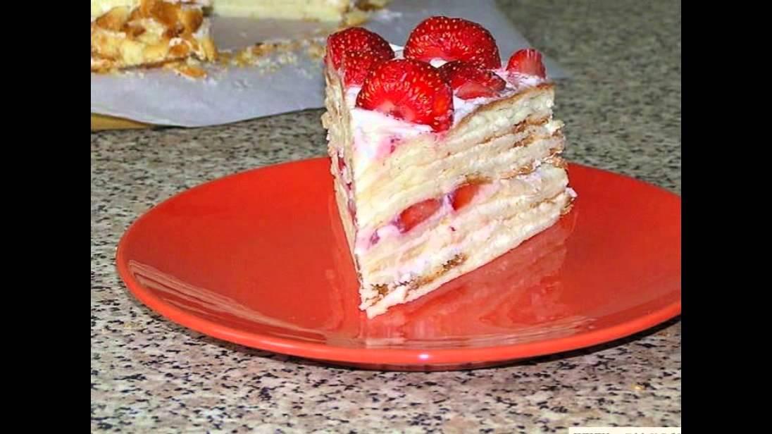 творожно- сметанный торт рецепт