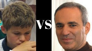 Magnus Carlsen vs Garry Kasparov : notable game: Reykjavik Rapid (2004)  ·  Queen