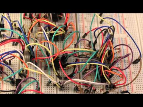 4 Bit Binary Adder Circuit Walkthrough 8 Bit Cpu
