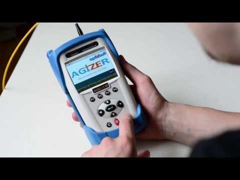 Agizer OPX-350 OTDR for fiber optics testing
