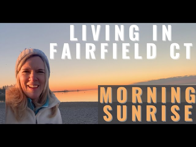 Fairfield CT Sunrise | Living in Fairfield CT | Pros of Living in Fairfield #Shorts