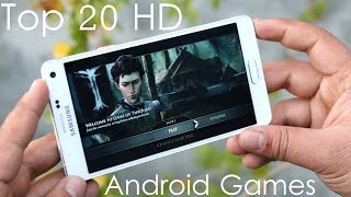 Top 20 Best HD Android Games(Here's a list of 20 Best HD (Awesome Graphics) Games for Android 2015. Stay Tuned for more videos :) 10 Best HD Android Games 2016 ..., 2014-12-31T18:15:00.000Z)