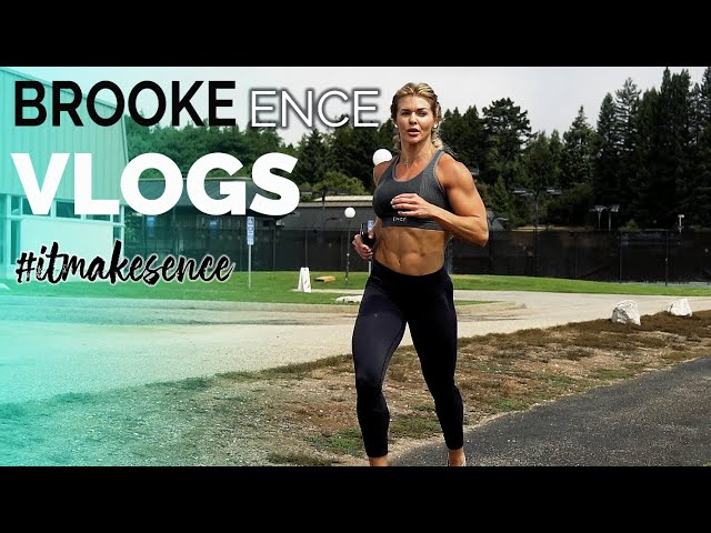 BROOKE ENCE VLOGS | Running With Deer and Fishing Attempt 2