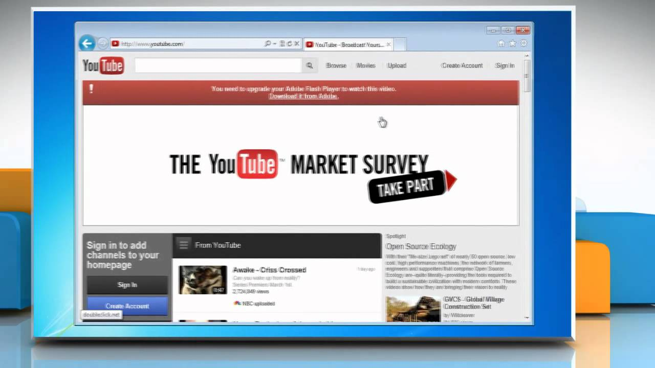 How to fix : No Sound in Internet Explorer®