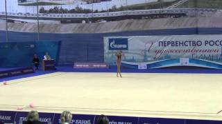 видео Аюпова Екатерина - художественная гимнастика