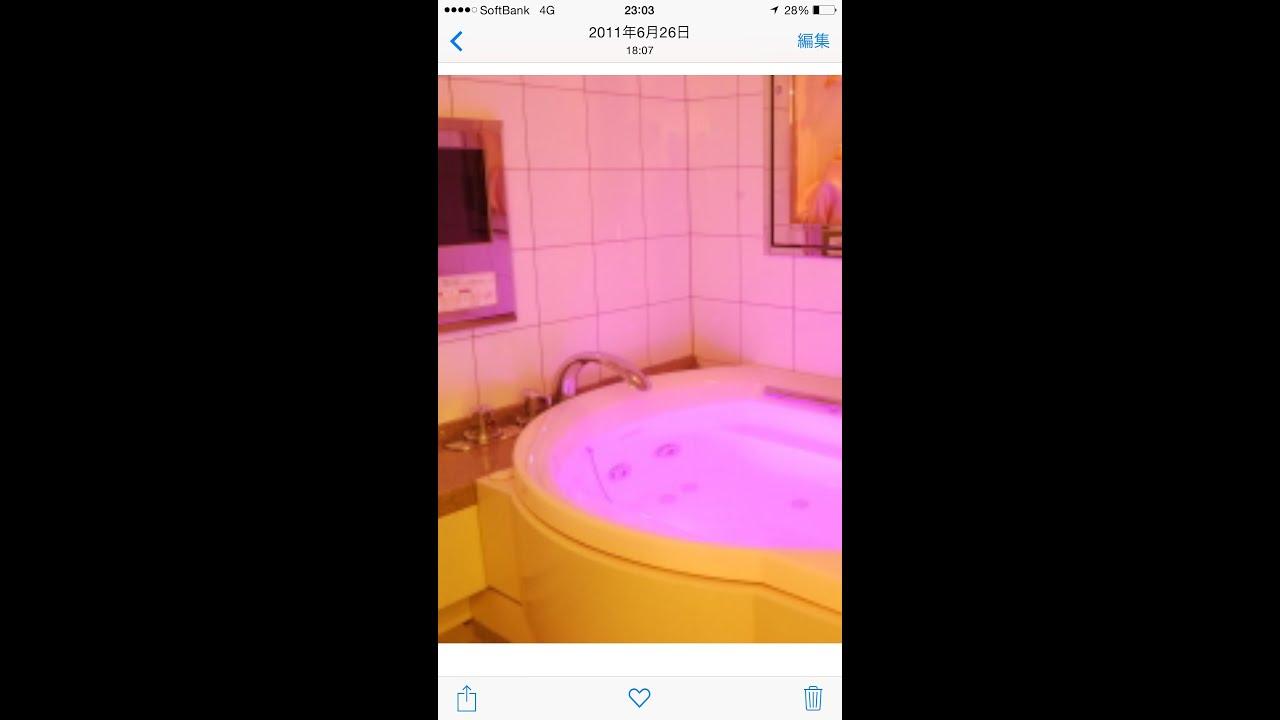 ラブホで36歳のスレンダー美女と混浴を試みたら…