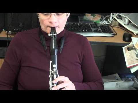 Jazz clarinet techniques Pitch bend slides glissandi and vibrato