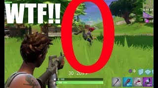 CRAZY LEG GLITCH!! - Fortnite: Battle Royale