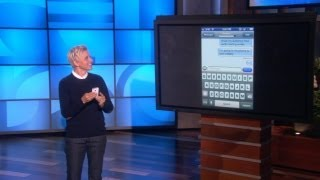 Ellen Talks to Text