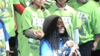 "PS22 Chorus ""No One"" / ""One Day"" Alicia Keys / Matisyahu (Golden Goggles 2010)"
