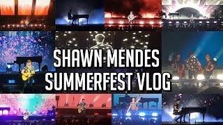Shawn Mendes Summerfest Concert Vlog