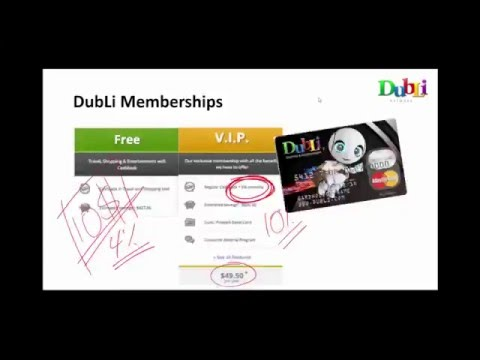 Dubli Business Opportunity Arabic Presentation 7122015
