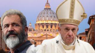 DEVASTADORAS palabras de Mel Gibson contra la élite vaticana y el Papa Franciscco