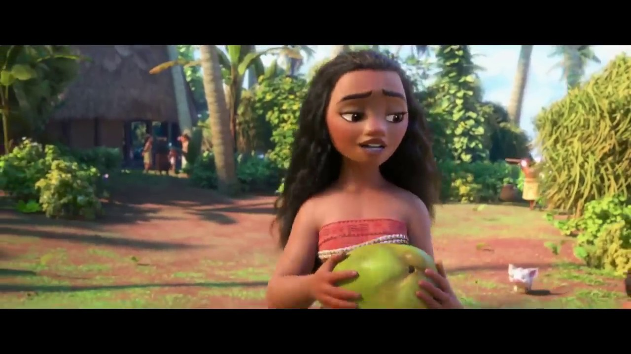 If Moana couldn't sing!!