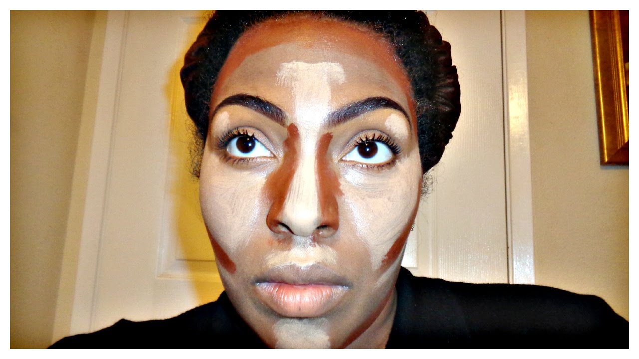 Supa Natural: How To Highlight And Contour Using Elf Concealer Tutorial