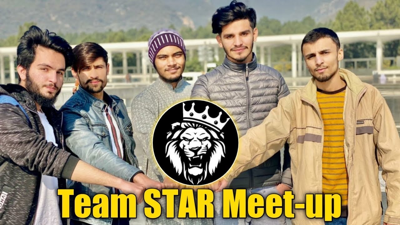 Download Team STAR Meet-up in Pindi • Face Reveal • StarEsport • ZyroJayy ❤️