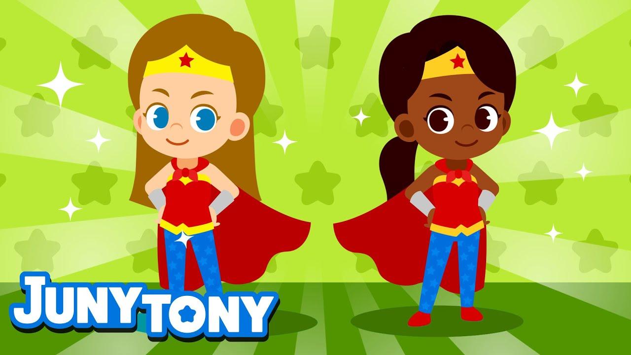 My Superhero Mommy | Family Songs for Kids | Preschool Songs | JunyTony