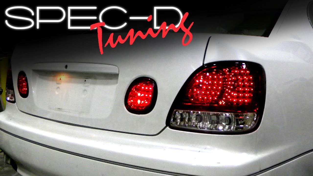 maxresdefault specdtuning installation video 1998 2005 lexus gs300 gs400 led HID Ballast Schematic at bayanpartner.co