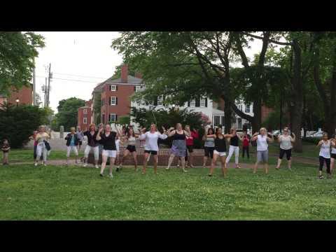 Prescott Park Flash Mob