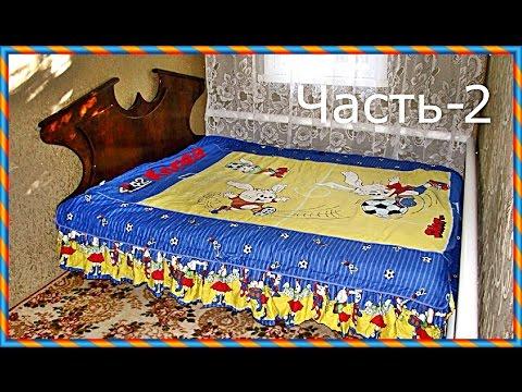 ютуб двухспальная кровать своими руками