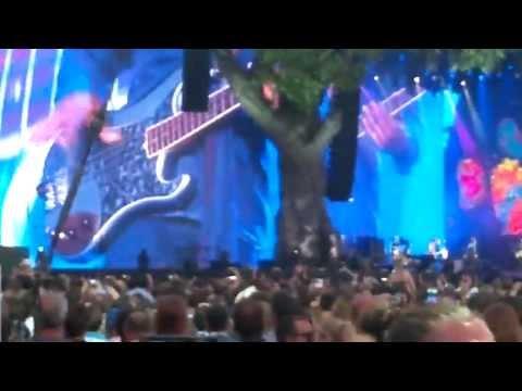 Darryl Jones bass solo Miss You Rolling Stones Hyde Park 2013