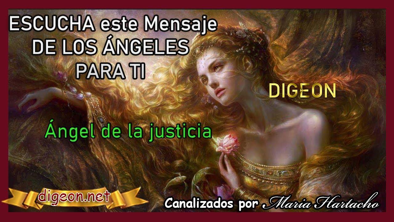 """MENSAJE DE LOS ÁNGELES PARA TI DIGEON 💌 ÁNGEL DE LA JUSTICIA """"Permite que reine la Justicia"""