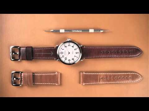 1f53bc8dd Shinola How-To | Change A Shinola Watch Strap - YouTube