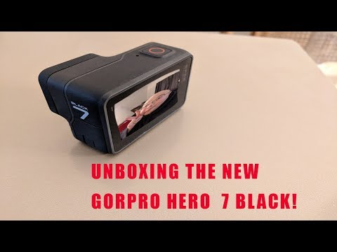 Unboxing the GoPro Hero 7 Black...GoPro really messed up!