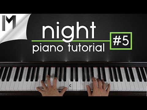 Night ~ Ludovico Einaudi ~ Piano Tutorial  [Part 5/6]