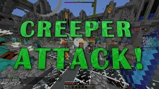 MINECRAFT CREPPER ATTACK #1 | HYPIXEL SERVER + IP