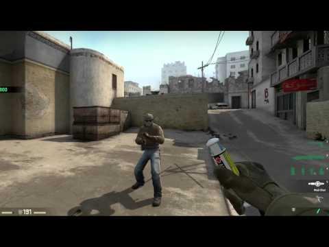 Heavy Assault Suit, Tactical Awareness Grenade and Health Shot CS:GO