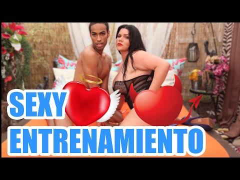 Sexy entrenamiento con Angelina Castro
